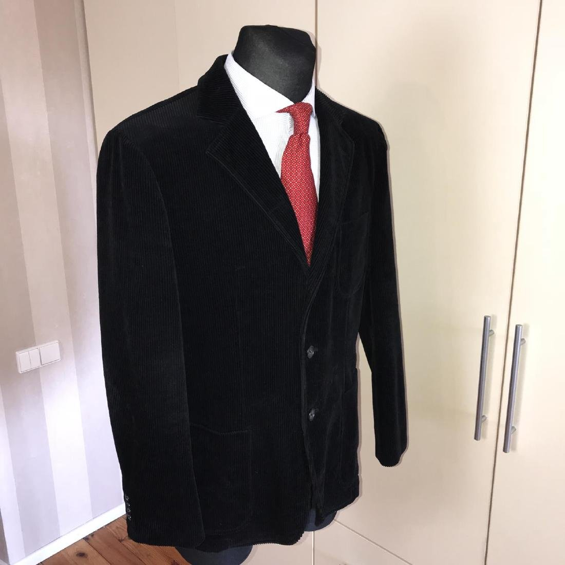 Men's GANT Black Velvet Jacket Blazer Size 48 EU 38 US - 5