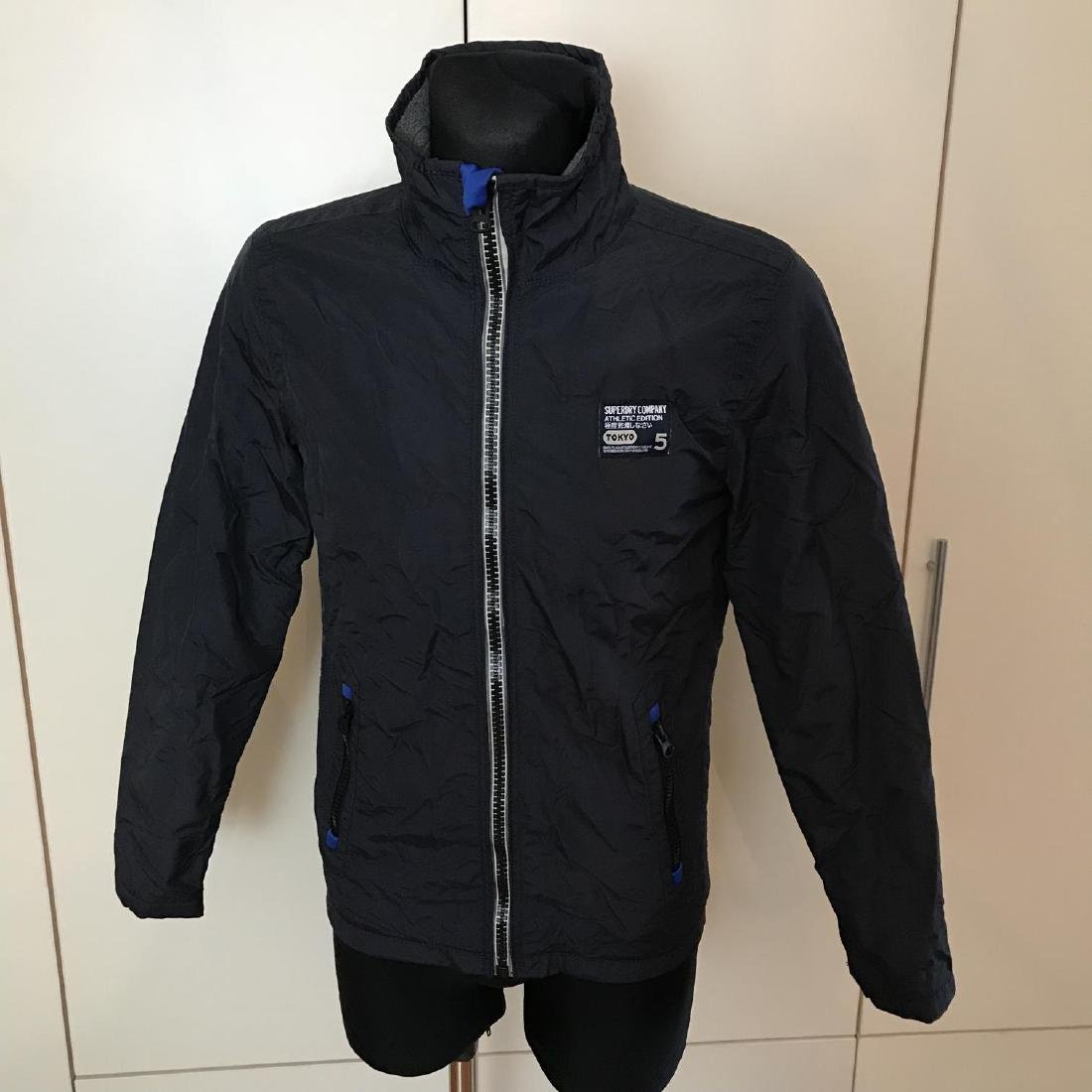 Men's Superdry TOKYO 5 Navy Blue Jacket Size S Perfect!