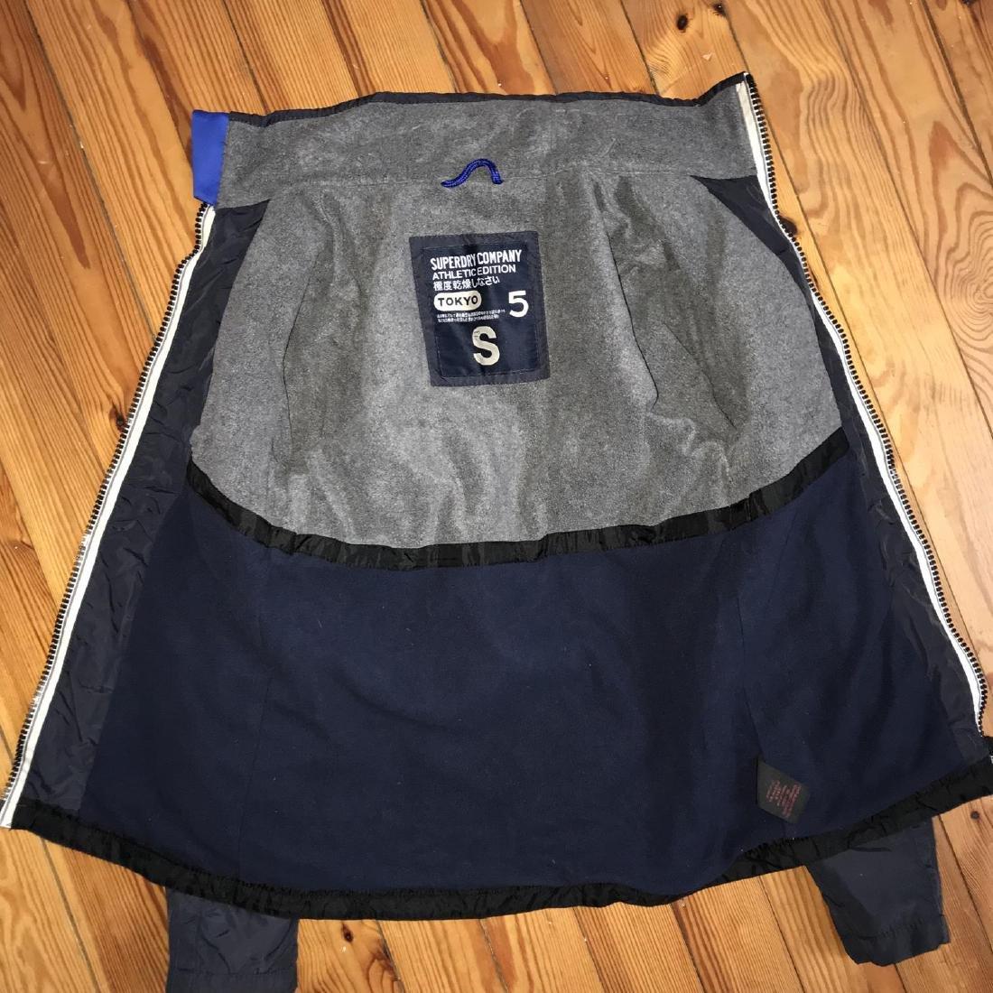 Men's Superdry TOKYO 5 Navy Blue Jacket Size S Perfect! - 2