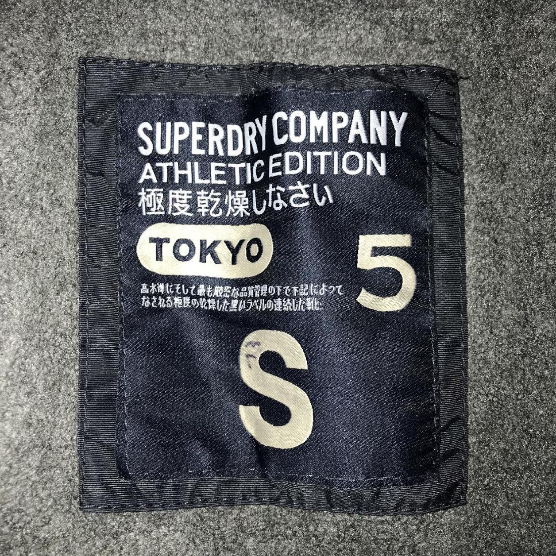 Men's Superdry TOKYO 5 Navy Blue Jacket Size S Perfect! - 3