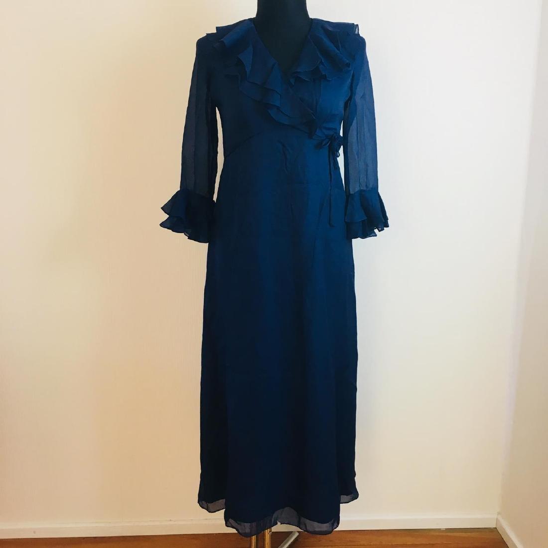 Vintage Women's Evening Dress Size EUR 14 US 44