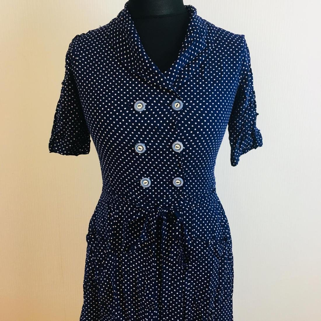 Vintage Women's Day Dress Size EUR 36 US 6 - 2