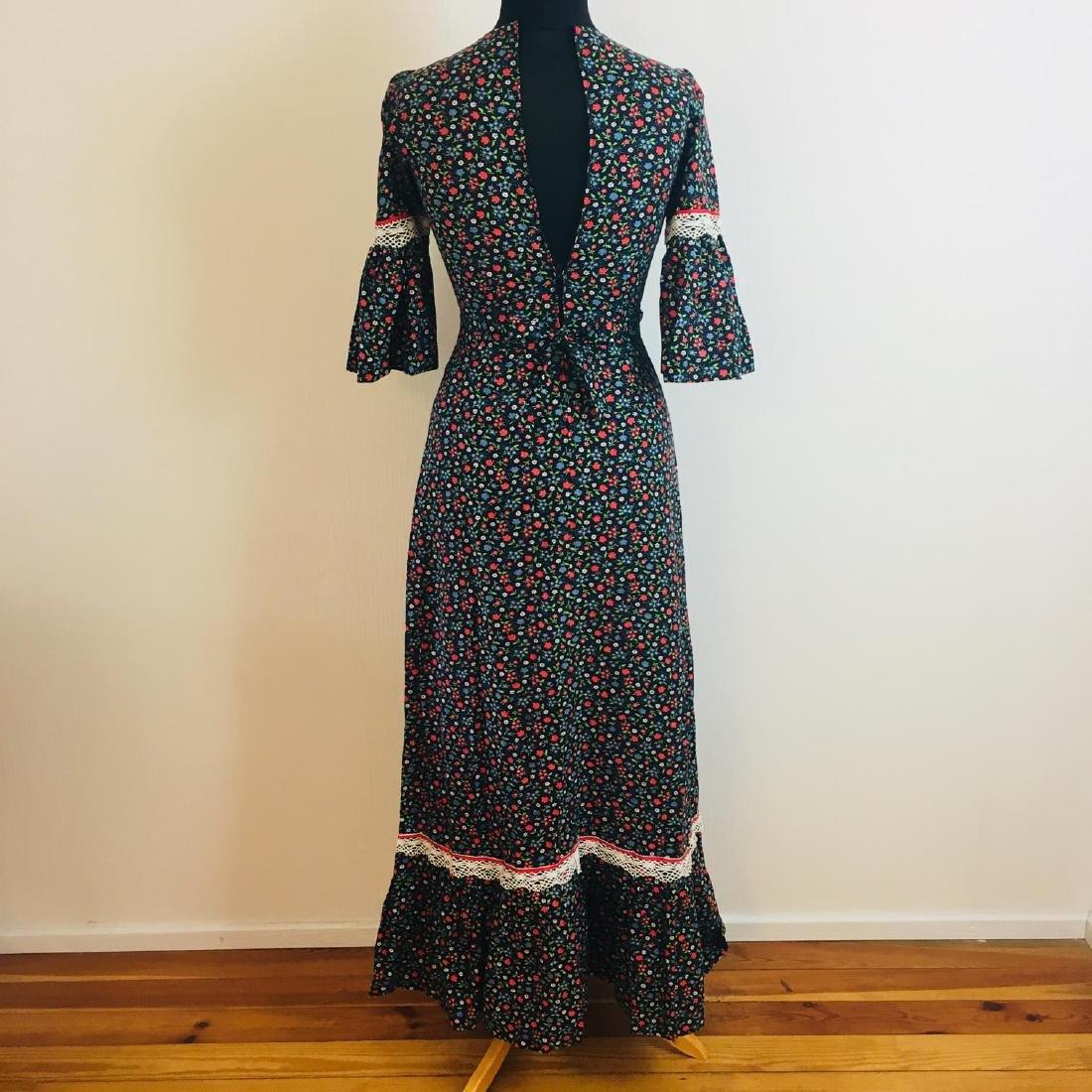Vintage Women's Tyrolean Style Dress Size EUR 36 US 6 - 5