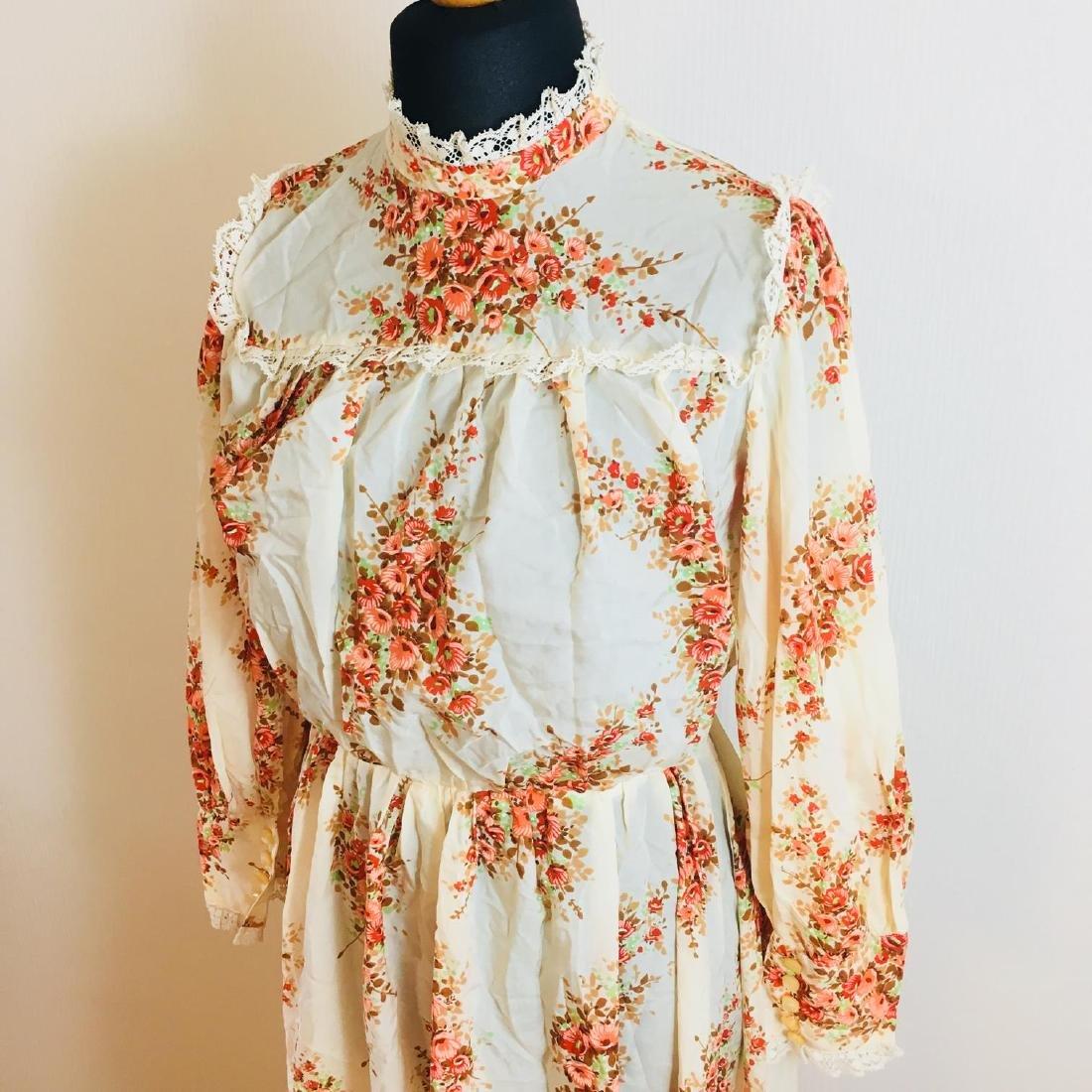 Vintage Women's Cocktail Maxi Dress Size EUR 38 US 8 - 2