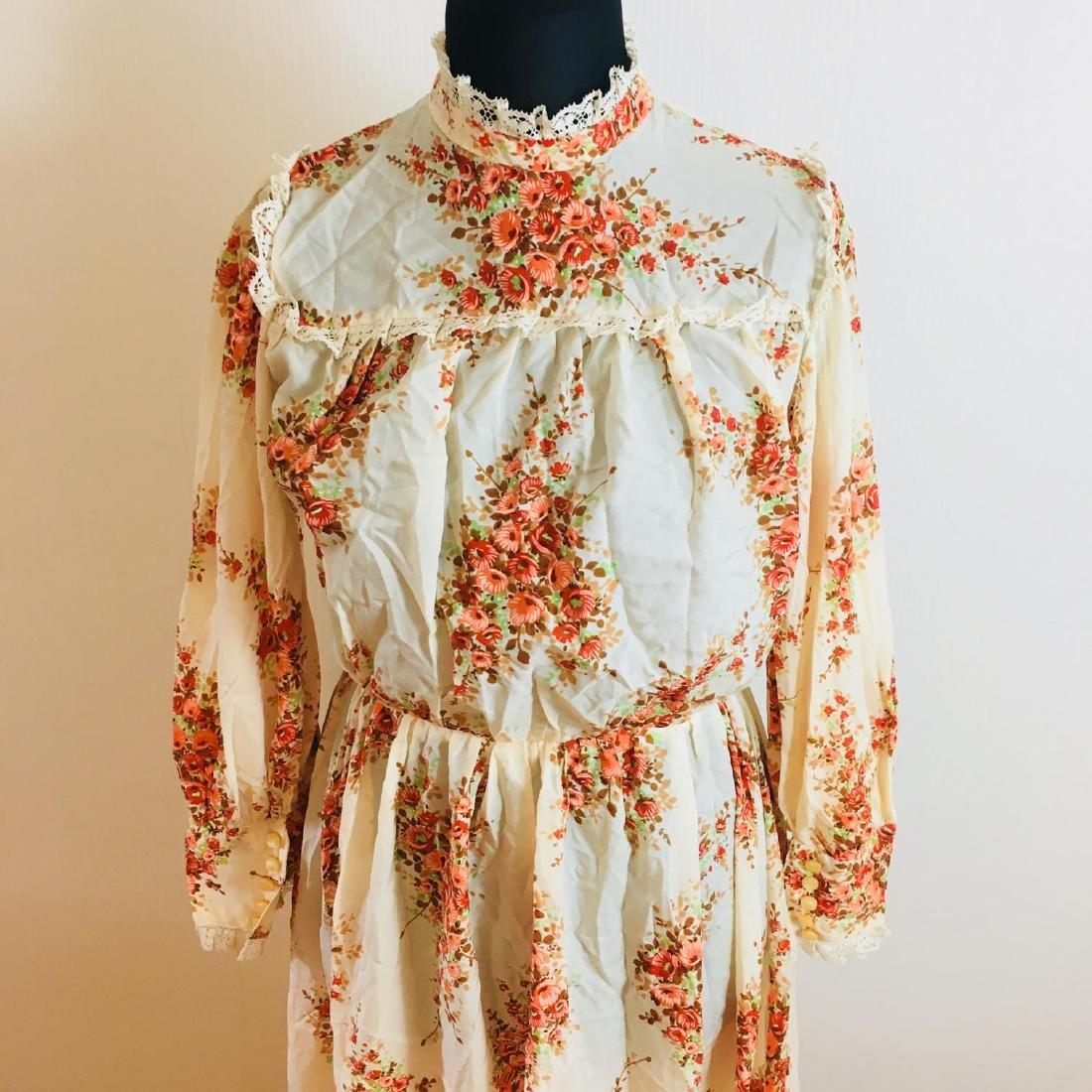 Vintage Women's Cocktail Maxi Dress Size EUR 38 US 8 - 3