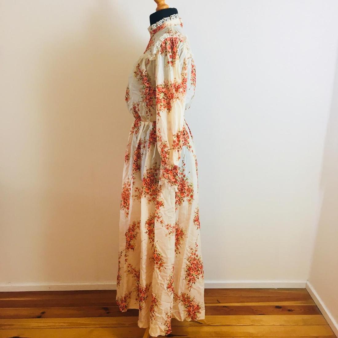 Vintage Women's Cocktail Maxi Dress Size EUR 38 US 8 - 4