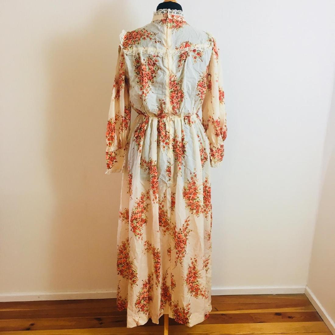 Vintage Women's Cocktail Maxi Dress Size EUR 38 US 8 - 5