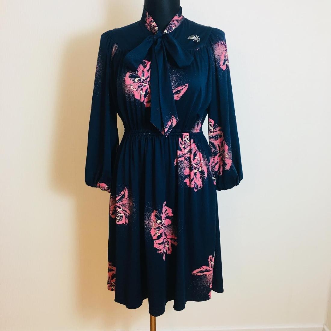 Vintage Women's Cocktail Evening Dress Size EUR 44