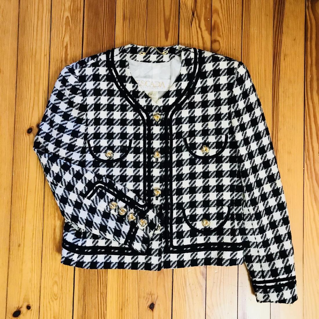 Vintage Women's ESCADA Designer Jacket Blazer Size EUR - 6