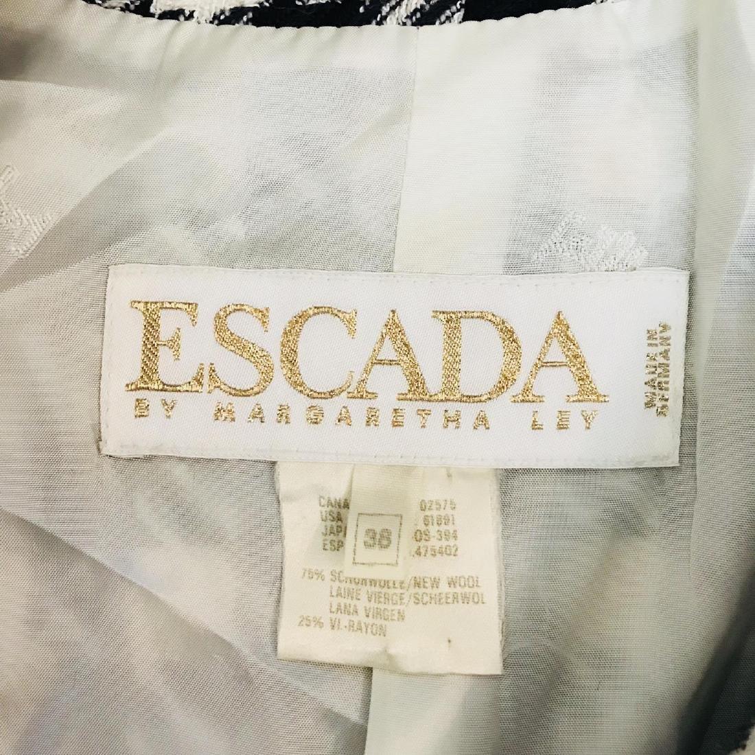 Vintage Women's ESCADA Designer Jacket Blazer Size EUR - 7