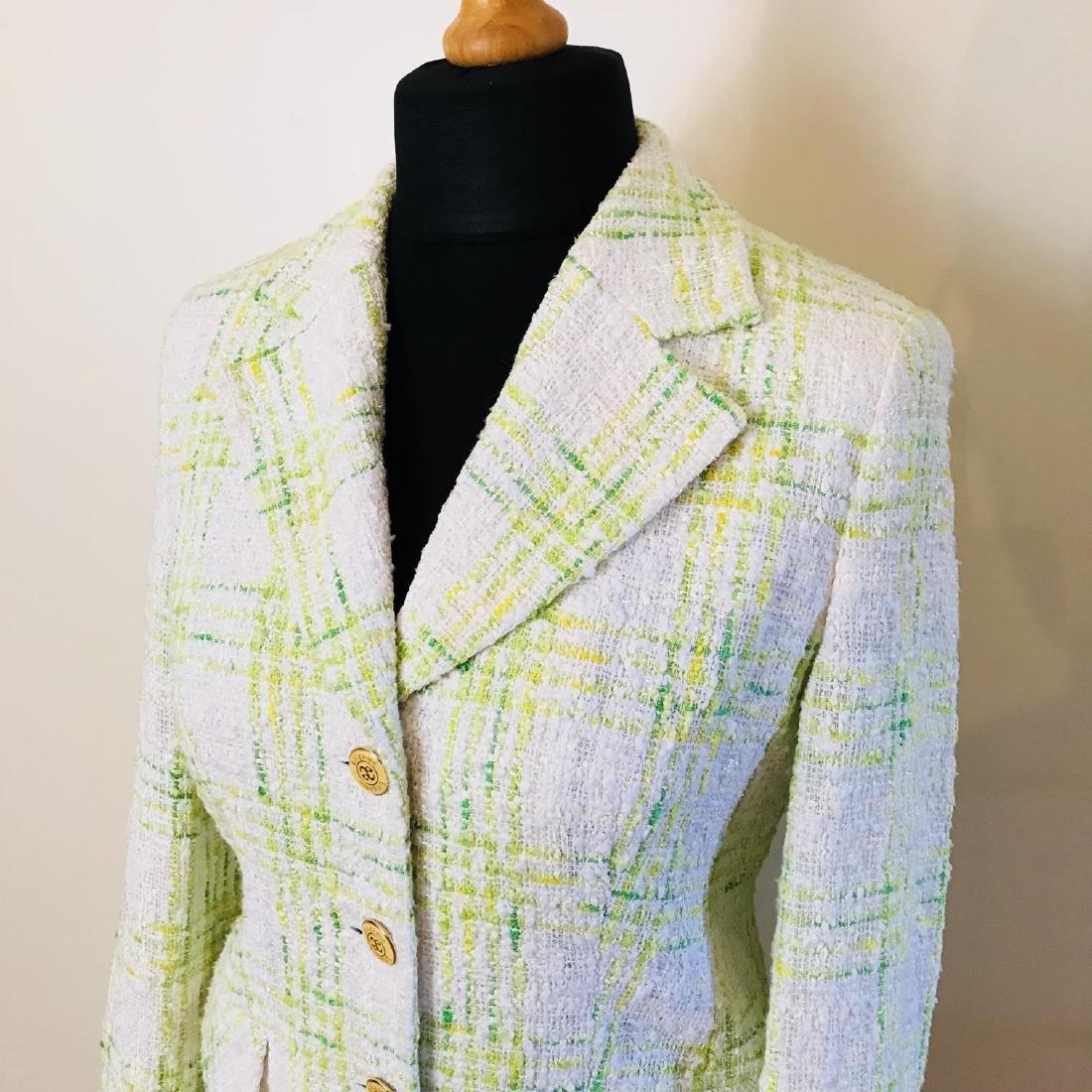 Vintage Women's Prestige Paris Designer Jacket Blazer - 2