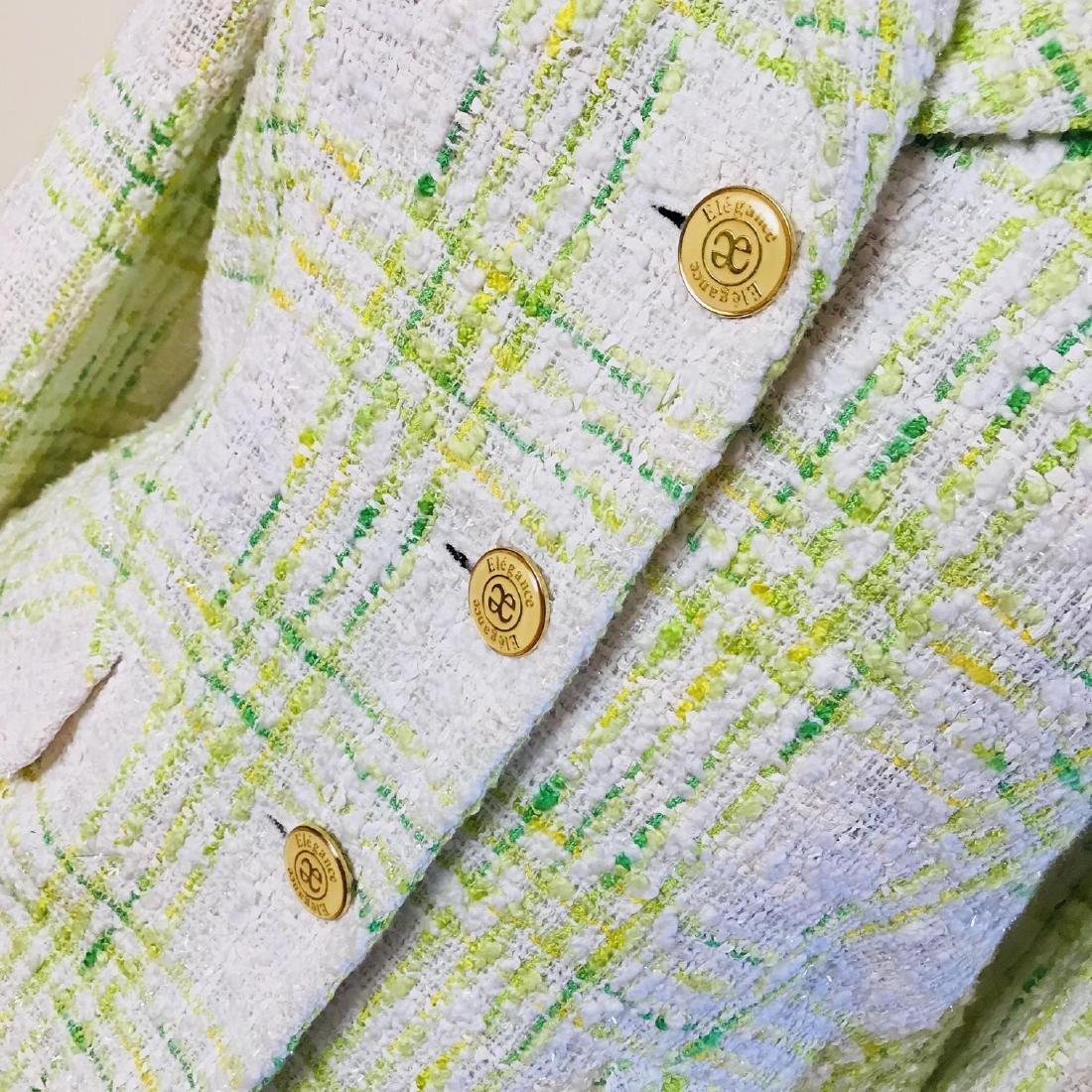 Vintage Women's Prestige Paris Designer Jacket Blazer - 3