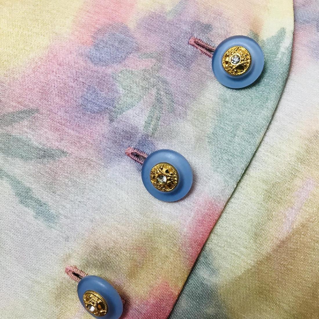Vintage Women's FINK Blouse Shirt Top Size EUR 40 US 10 - 3
