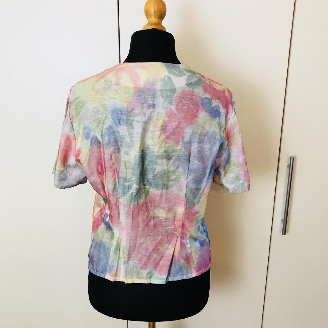 Vintage Women's FINK Blouse Shirt Top Size EUR 40 US 10 - 4
