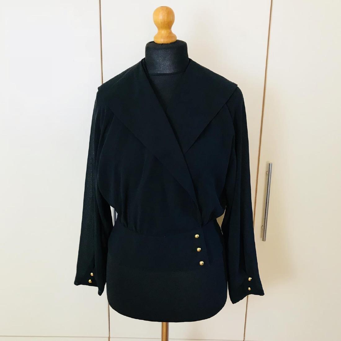 Vintage Women's Denise Darcy Designer Blouse Shirt Top