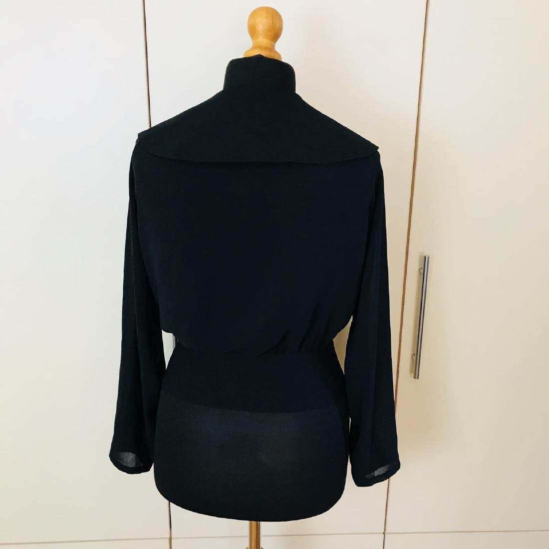 Vintage Women's Denise Darcy Designer Blouse Shirt Top - 3