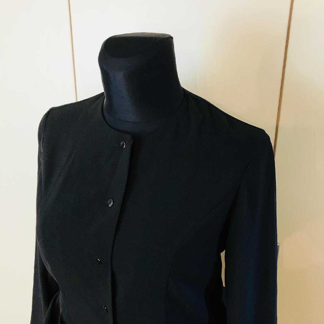 Vintage Women's Black Blouse Shirt Top Size EUR 40 US - 3