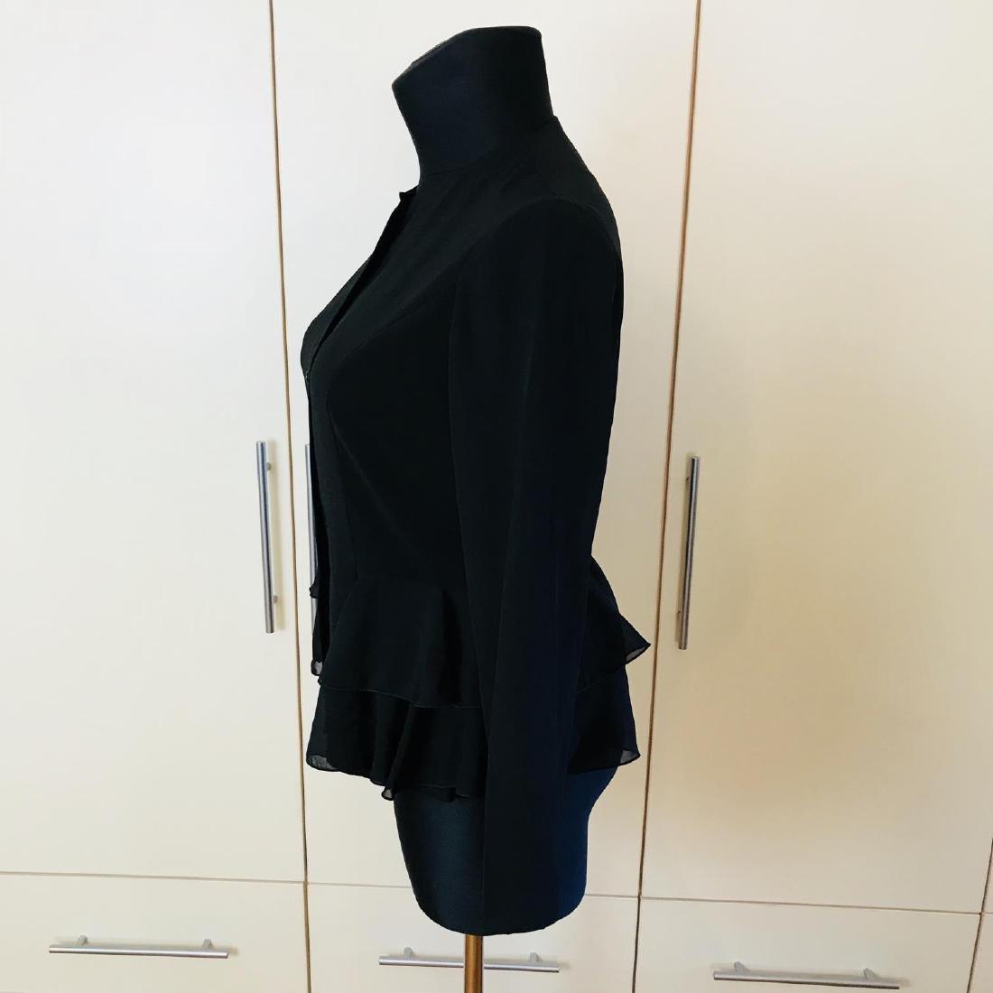 Vintage Women's Black Blouse Shirt Top Size EUR 40 US - 4