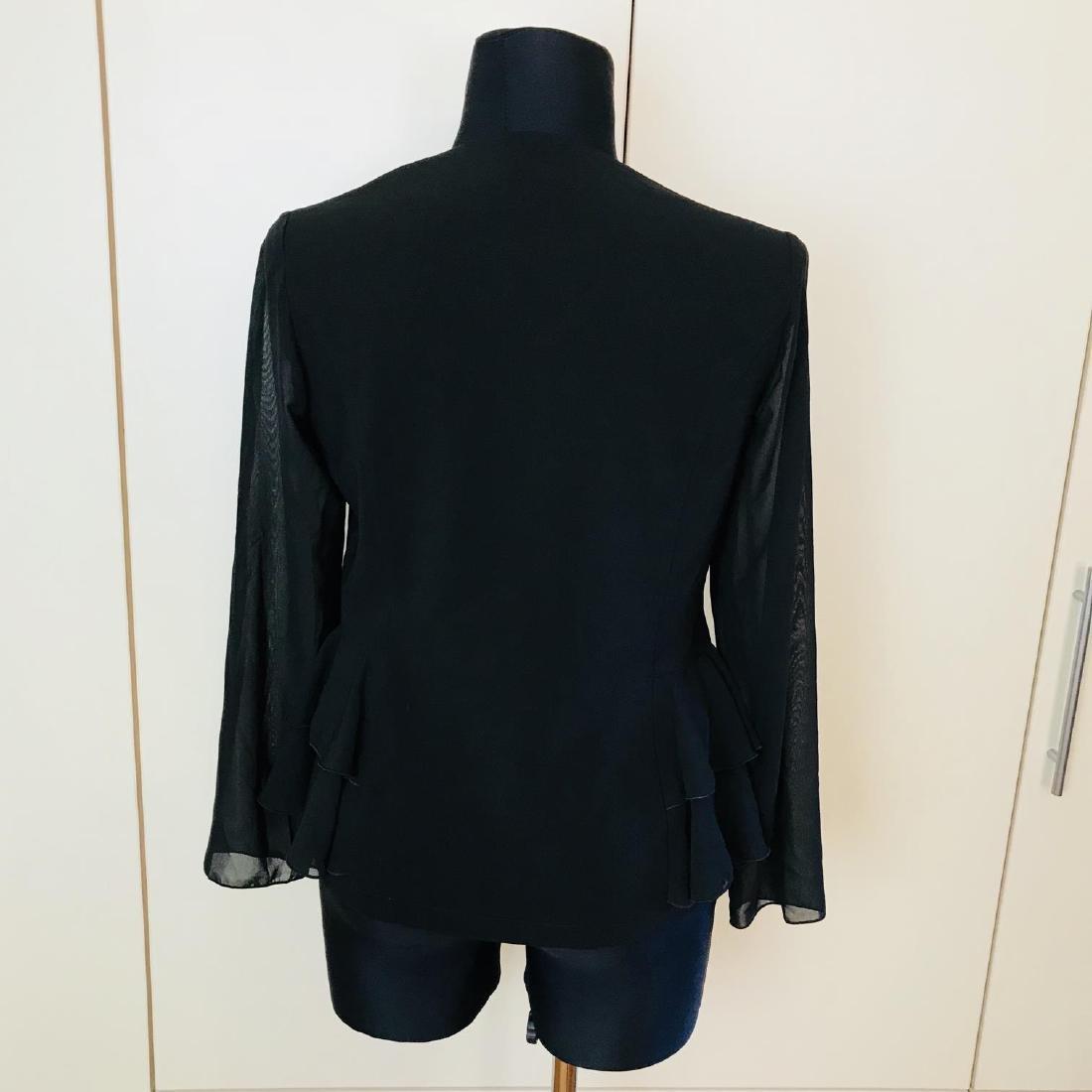 Vintage Women's Black Blouse Shirt Top Size EUR 40 US - 5