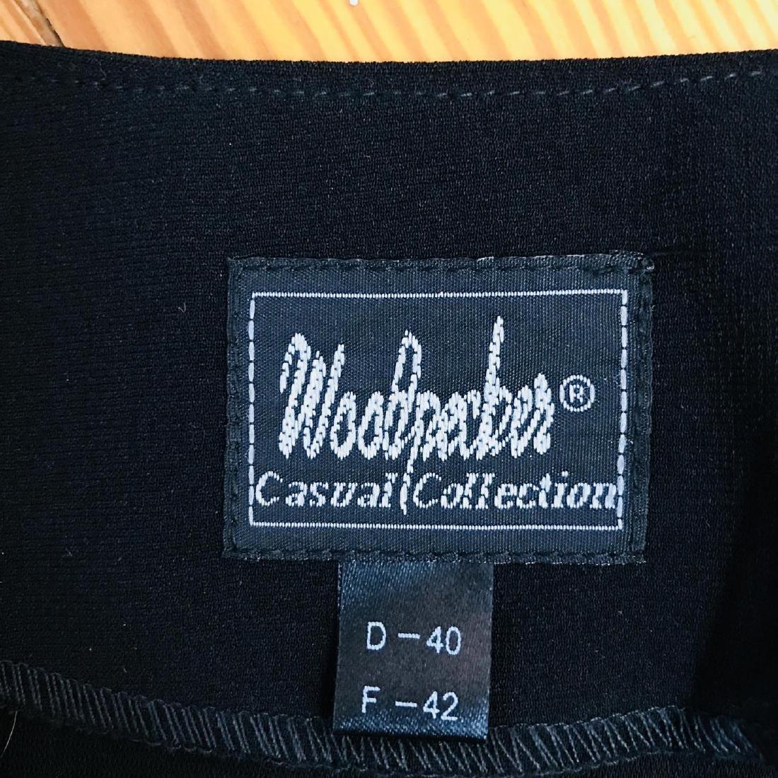 Vintage Women's Black Blouse Shirt Top Size EUR 40 US - 6