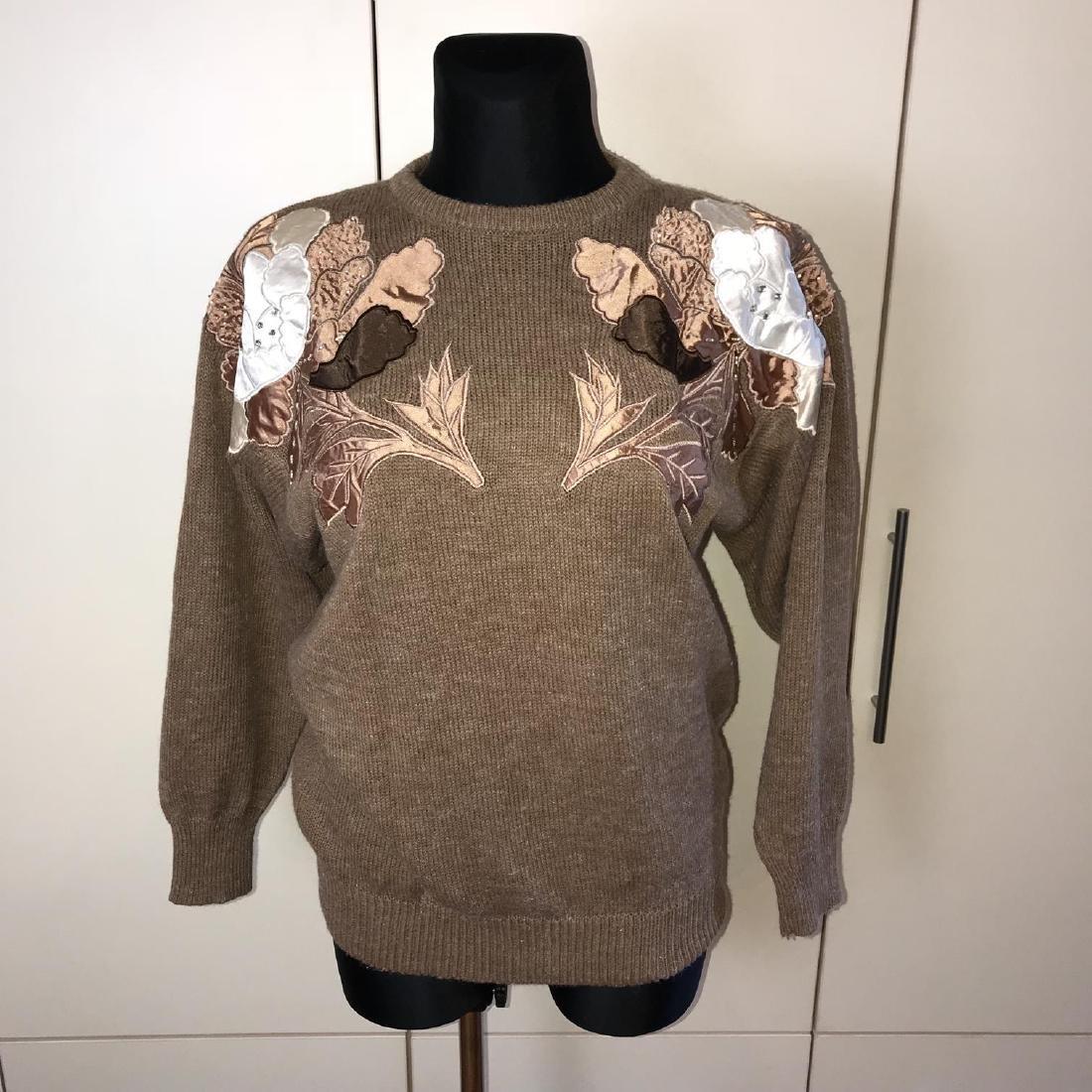 Vintage Women's Oversized Sweater Size EUR 40 US 10