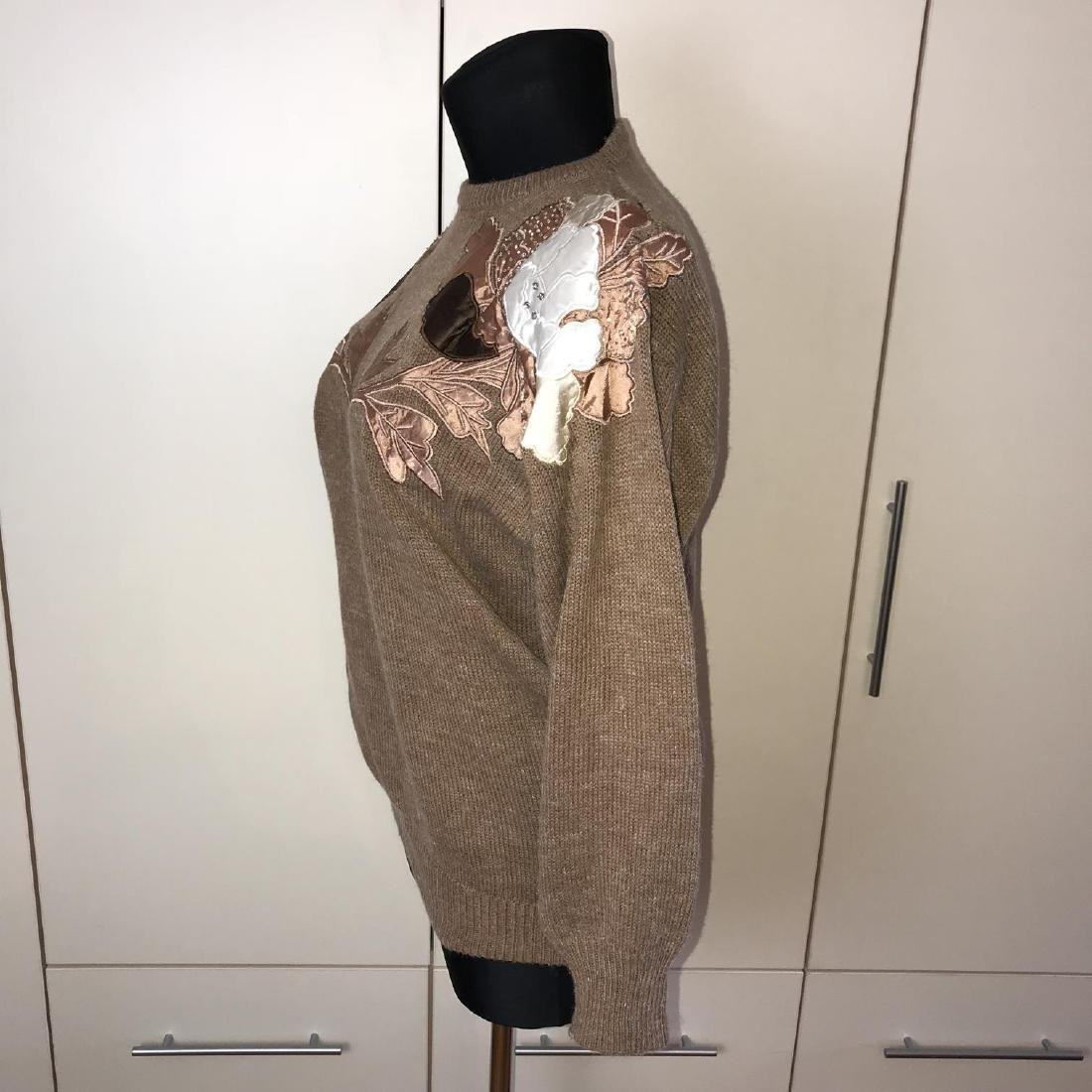 Vintage Women's Oversized Sweater Size EUR 40 US 10 - 4