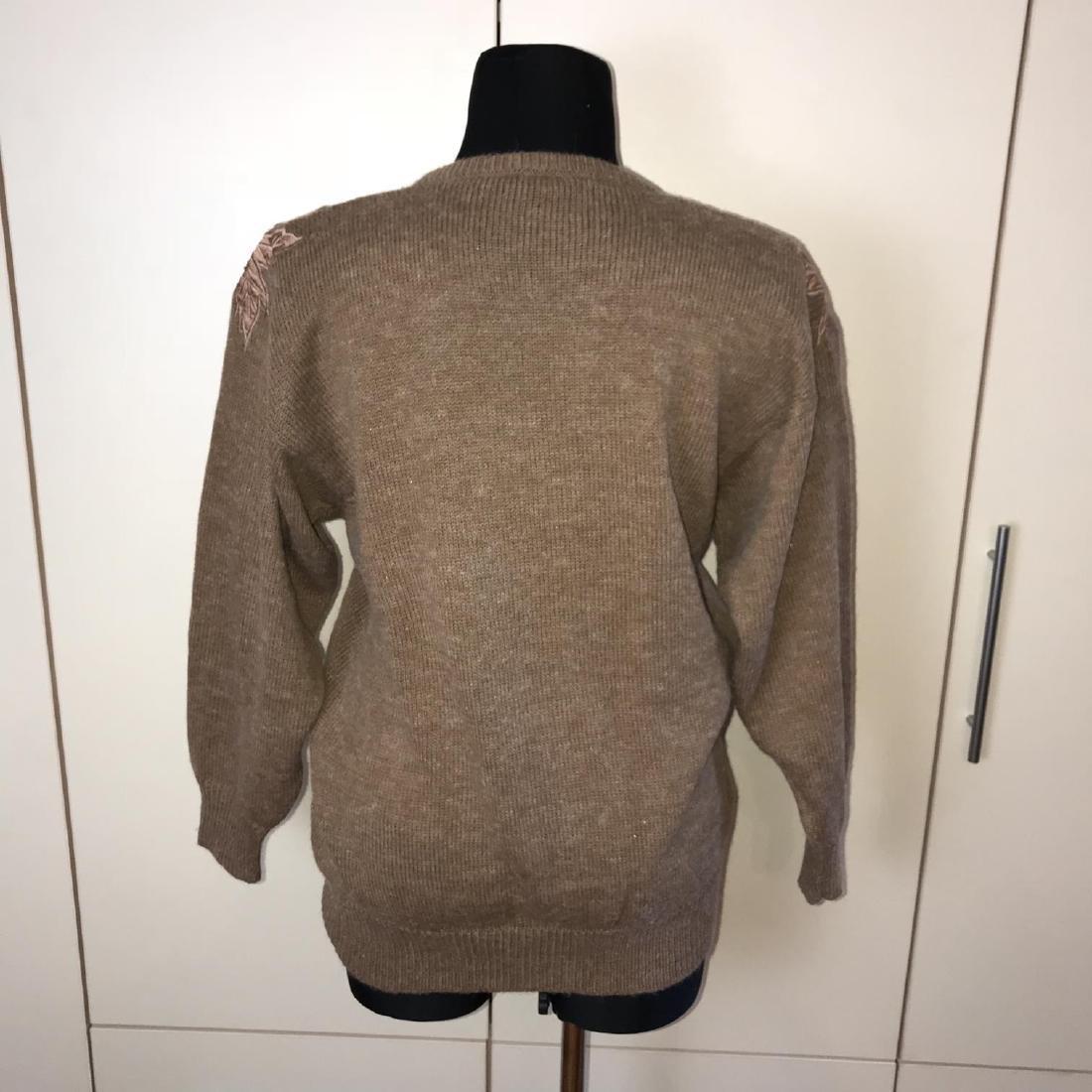 Vintage Women's Oversized Sweater Size EUR 40 US 10 - 5