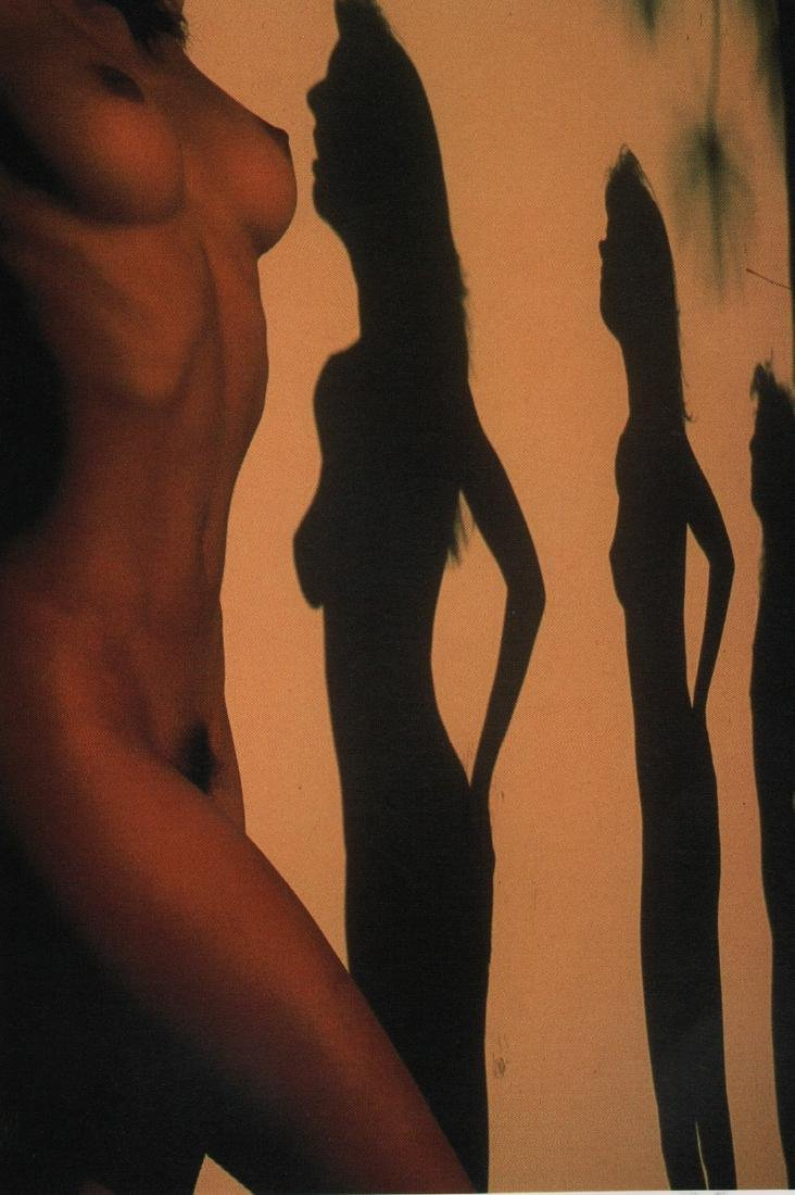 LUCIEN CLERGUE- Color Nude.