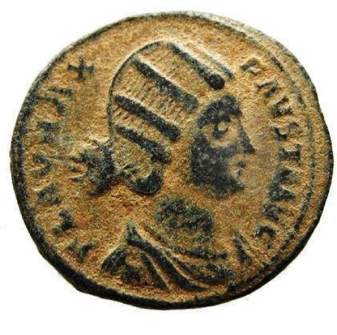 Fausta, Augusta 324 - 326 AD. AE Follis