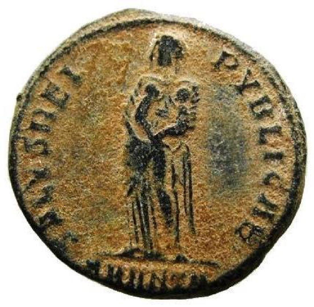 Fausta, Augusta 324 - 326 AD. AE Follis - 2