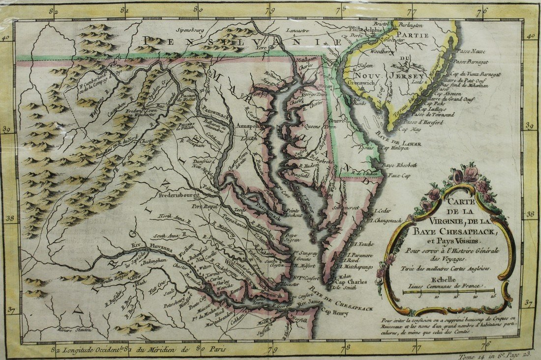 Map of Virginia - 3
