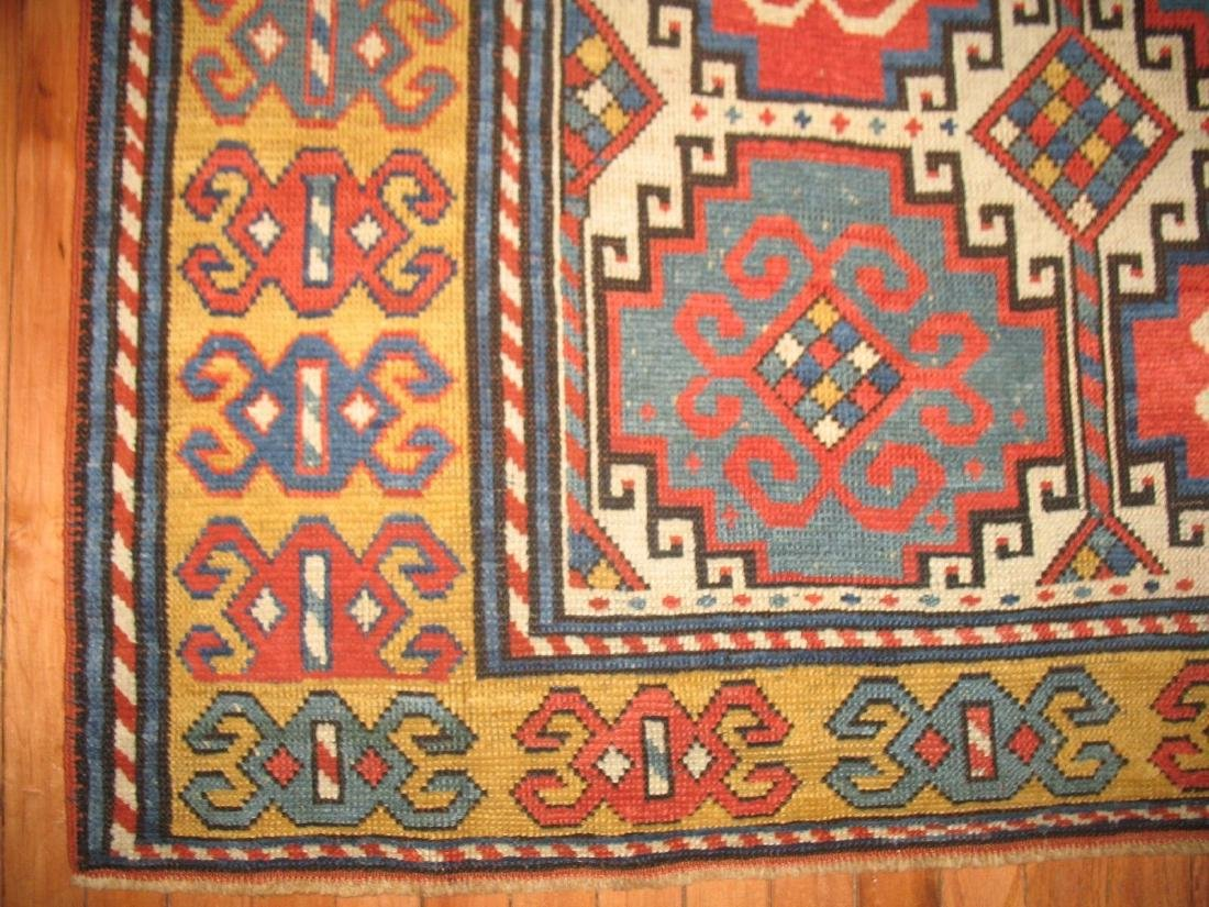 Antique Caucasian Kazak Shirvan Gendje Moghan Rug 4.5x7 - 5