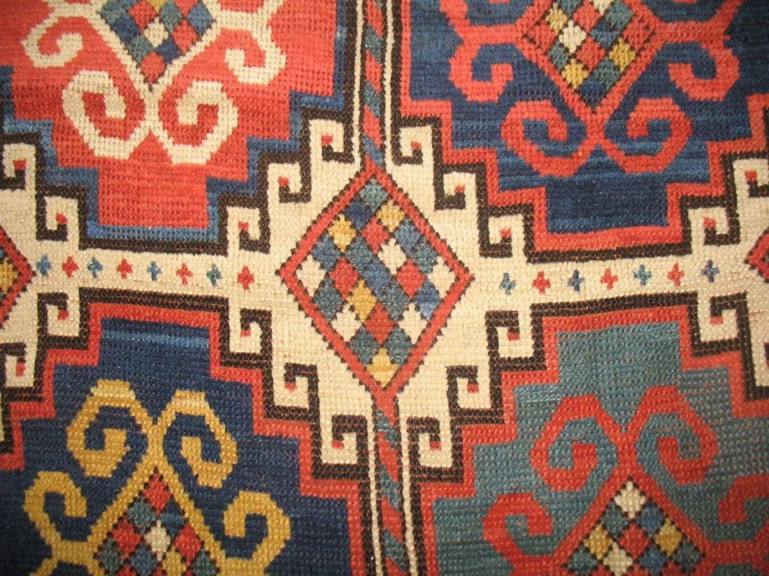 Antique Caucasian Kazak Shirvan Gendje Moghan Rug 4.5x7 - 6