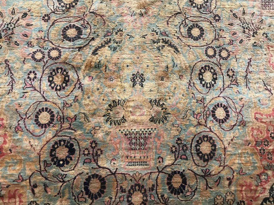 Kashmiri Silk Rug 9x12 - 3