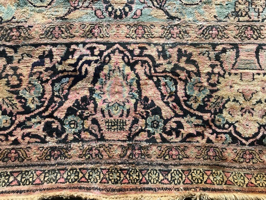 Kashmiri Silk Rug 9x12 - 4