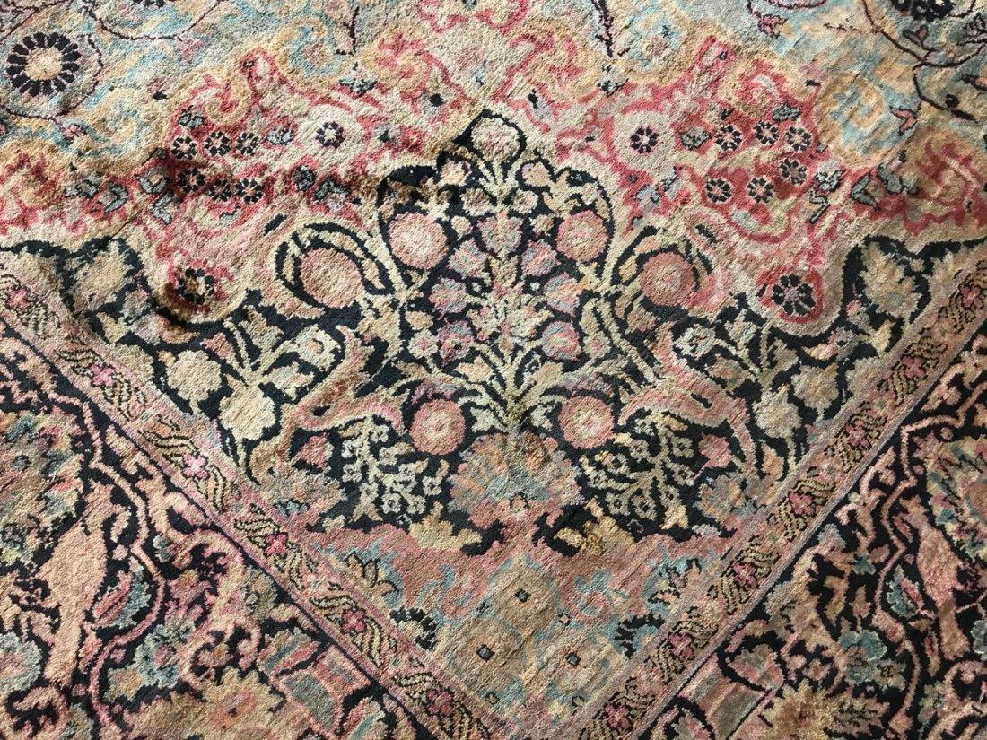 Kashmiri Silk Rug 9x12 - 5