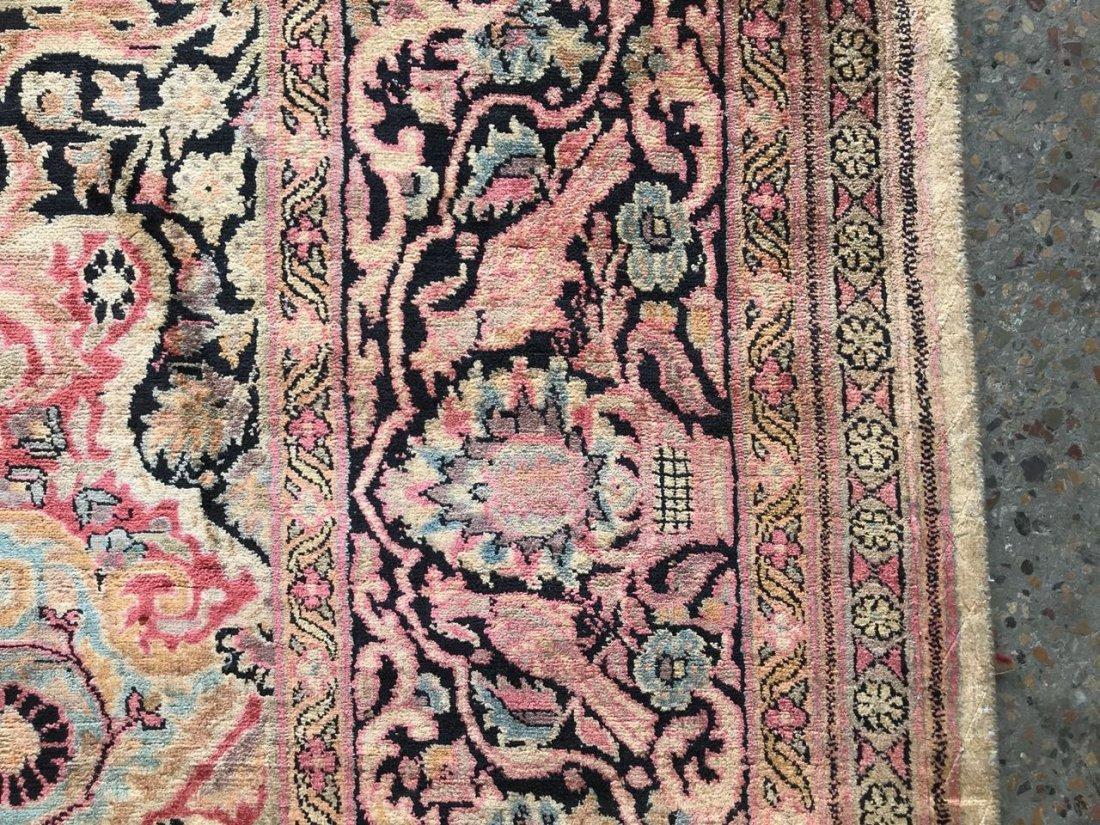 Kashmiri Silk Rug 9x12 - 6