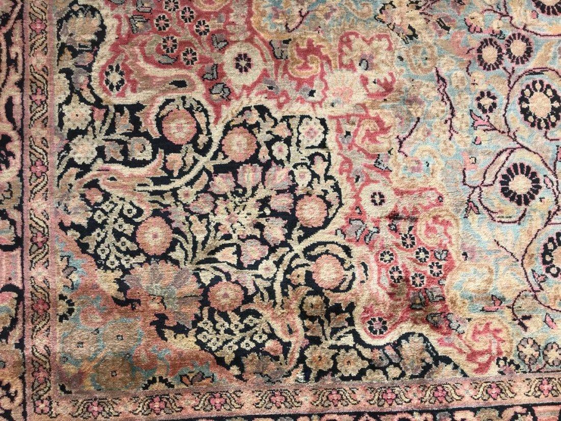 Kashmiri Silk Rug 9x12 - 7
