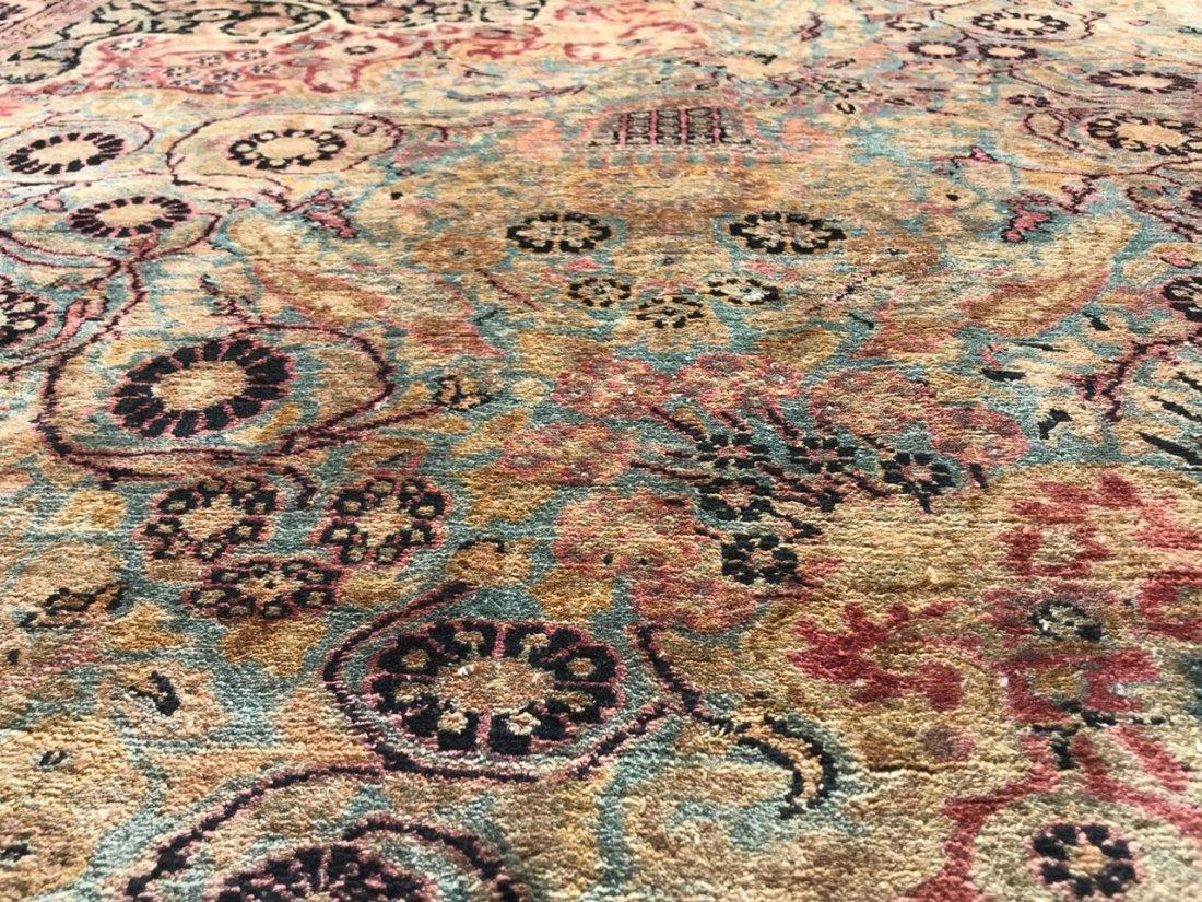 Kashmiri Silk Rug 9x12 - 8