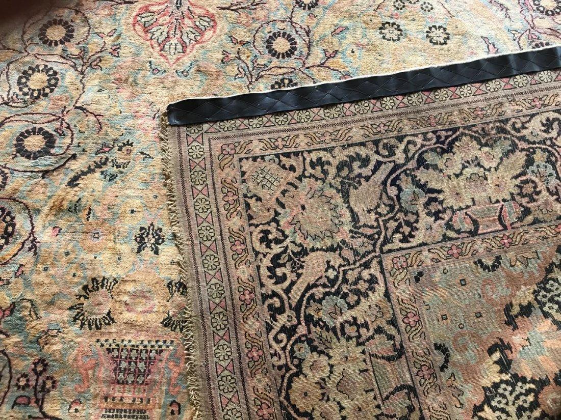 Kashmiri Silk Rug 9x12 - 9
