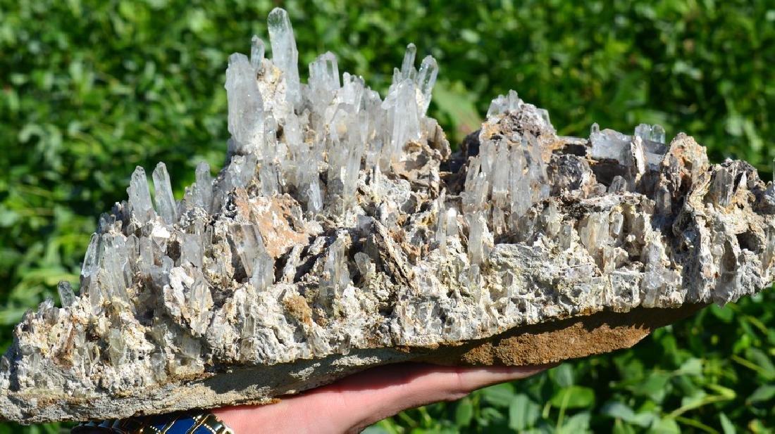 Natural Quartz Crystals Bunch Specimen - 3