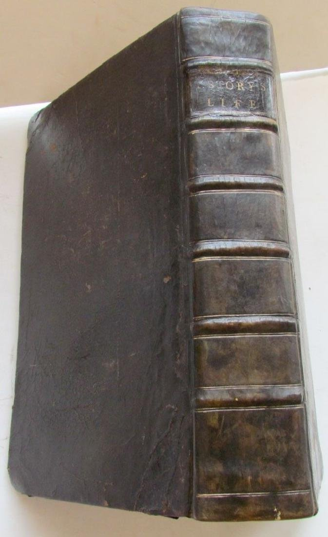 1747 QUAKERS HISTORY JOURNAL OF LIFE OF THOMAS STORY