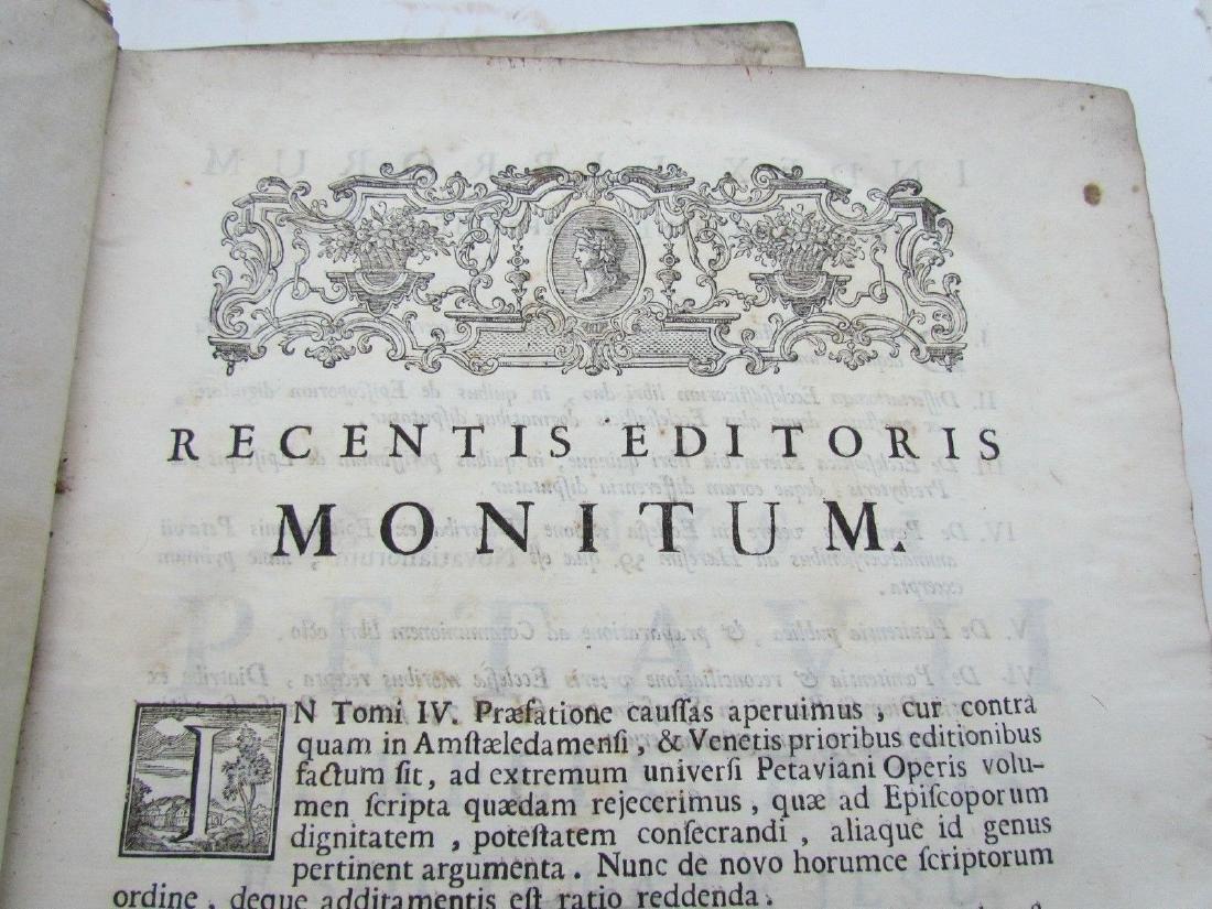 1757 6 VOLUMES SET ANTIQUE VELLUM BOUND FOLIOS by - 10