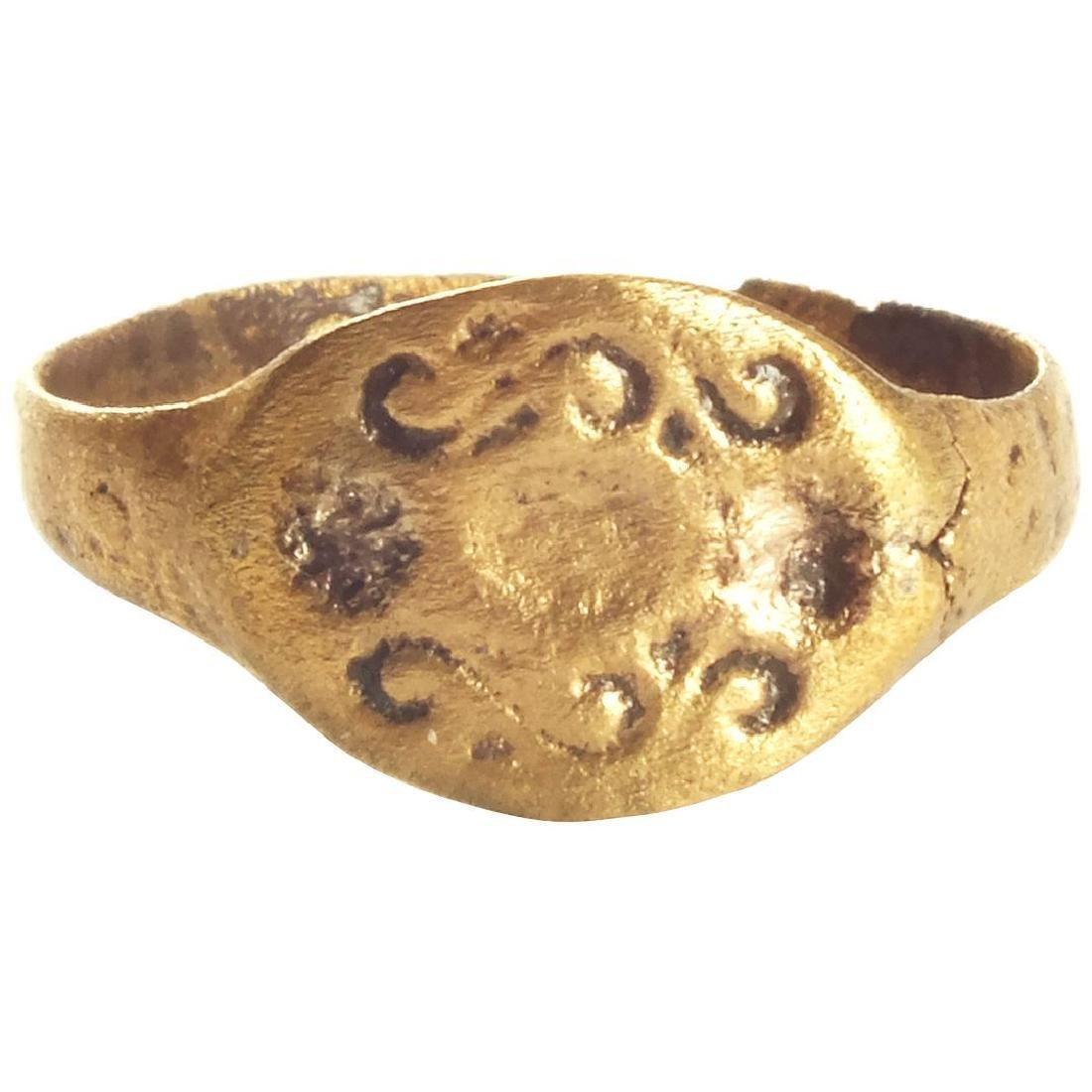 ROMAN SORCERER'S RING C.300-100 BC