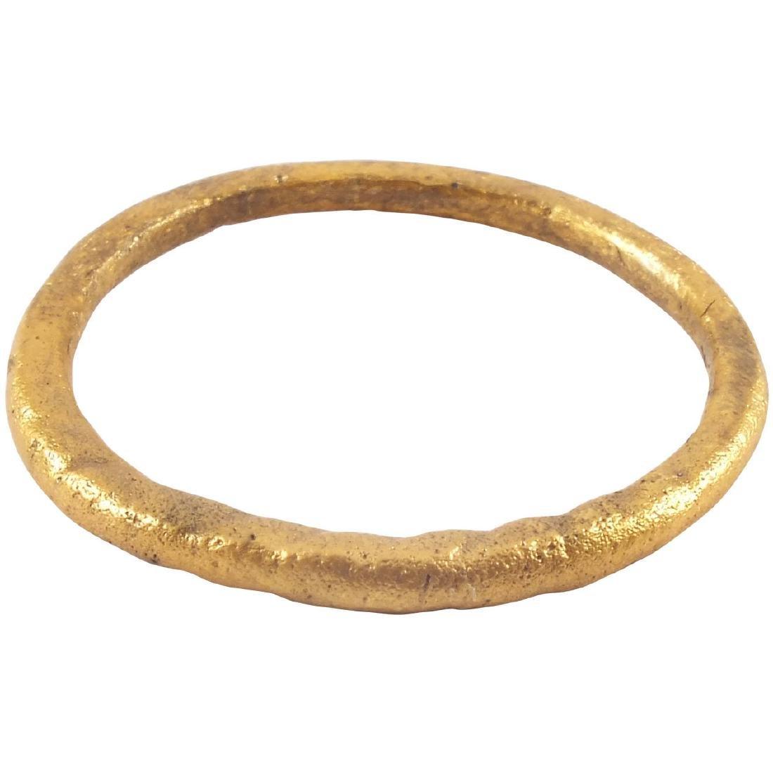 VIKING TWISTED MOTIF RING 850-1050 AD