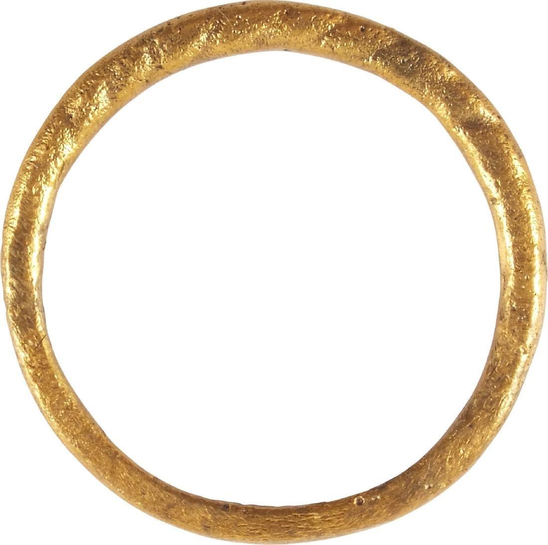 VIKING TWISTED MOTIF RING 850-1050 AD - 2