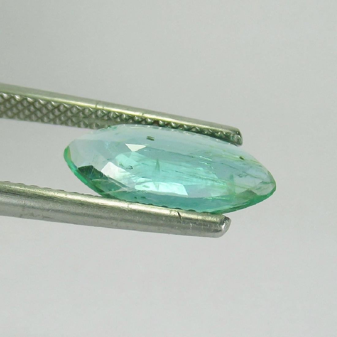 2.12 Ct Genuine Loose Exclusive Top Emerald Marquise - 3