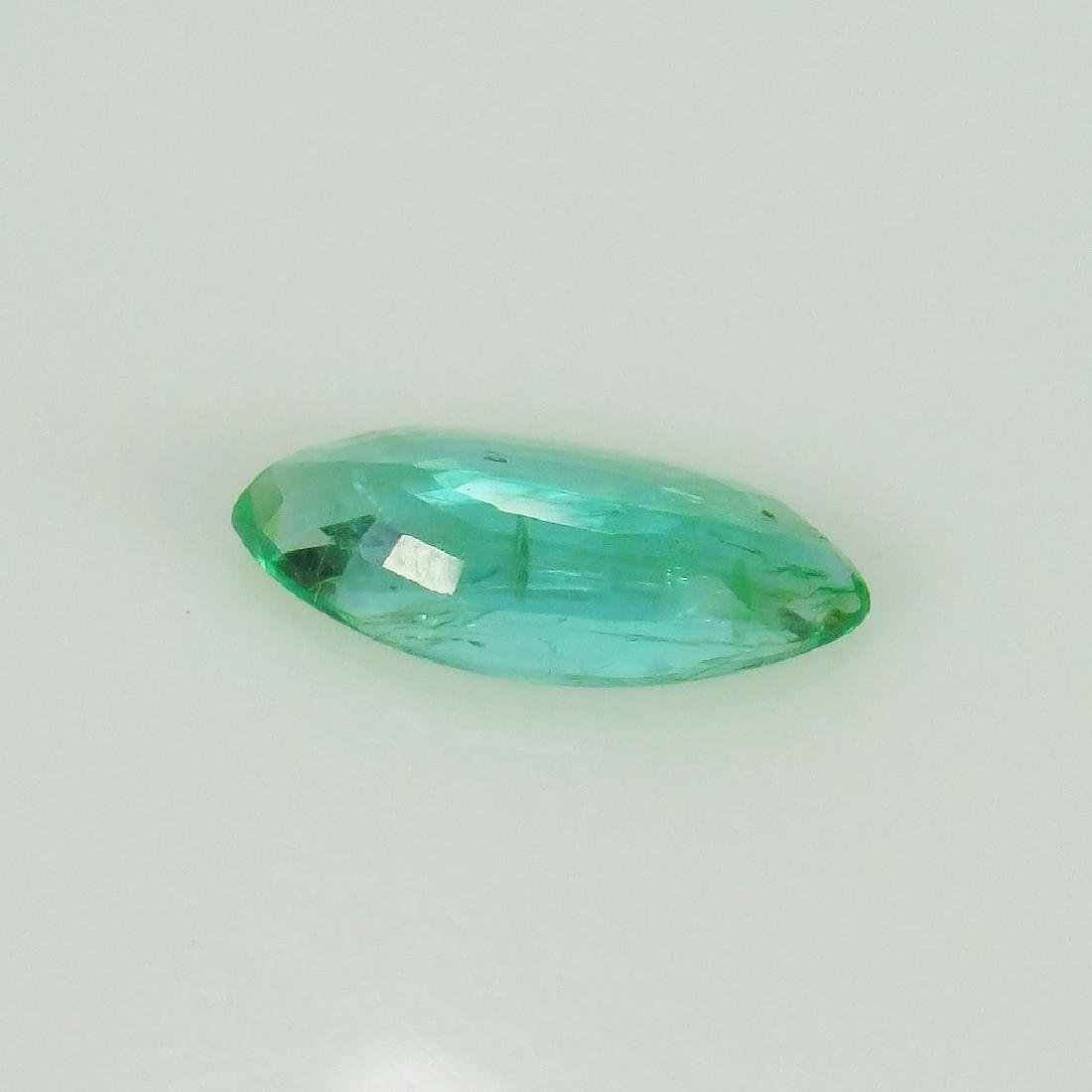 2.12 Ct Genuine Loose Exclusive Top Emerald Marquise - 4