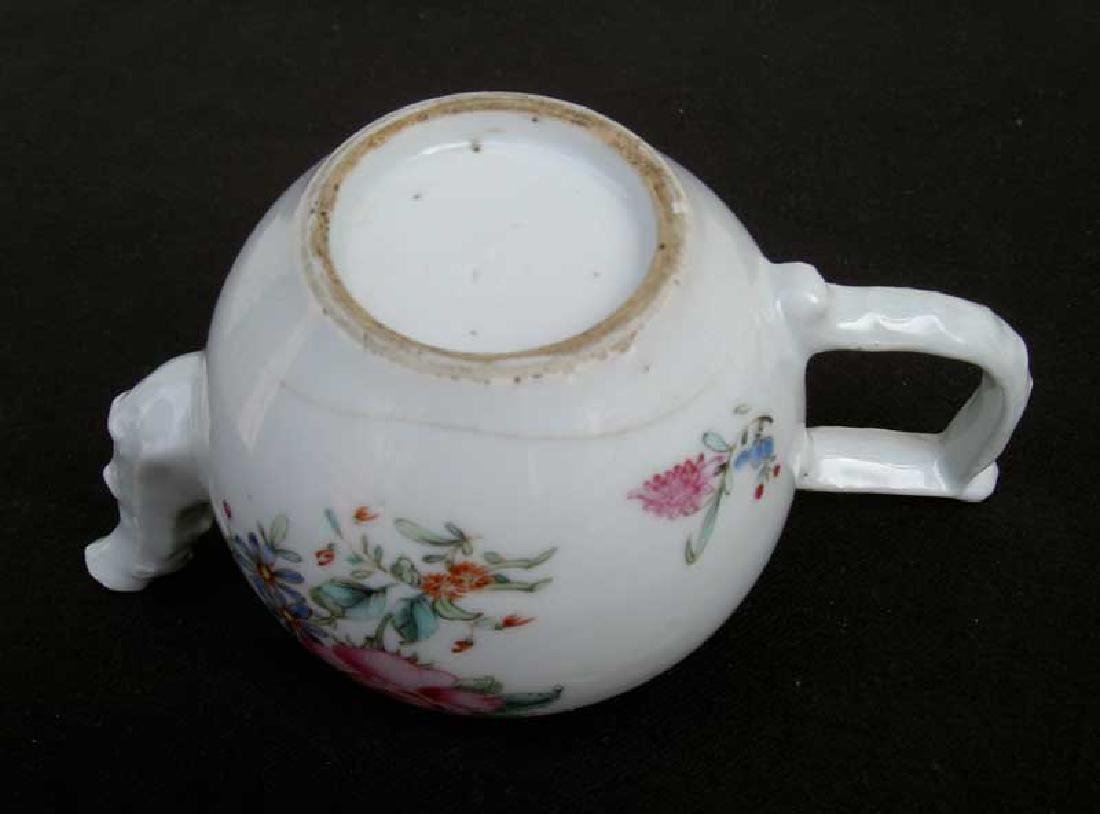 Chinese Export 18th century Famille Rose teapot - 4