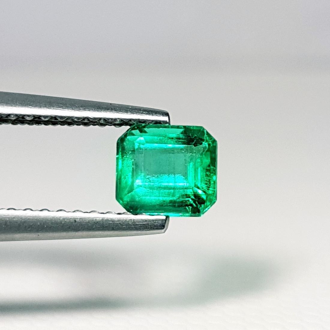 Top Qaulity Emerald Cut NaturalEmerald - 0.63 ct